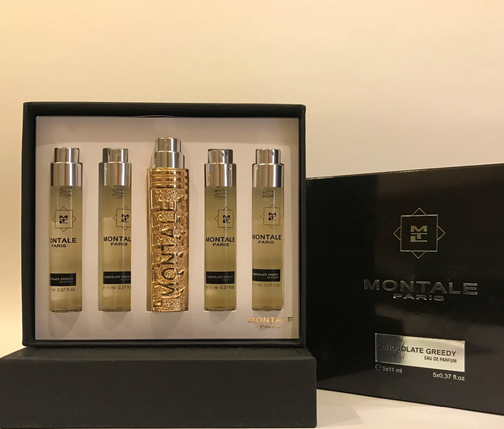 Набор духов MONTALE CHOCOLATE GREEDY 5 по 11 ml :: Парфюмерия