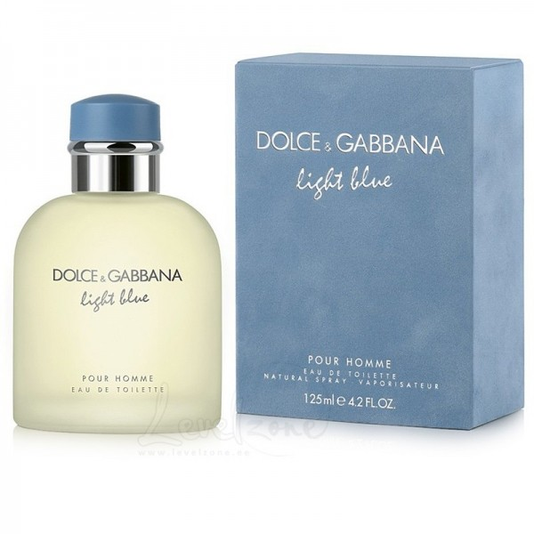 "Мужская туалетная вода ""LIGHT BLUE POUR HOMME"" DOLCE GABBANA, 125ML, EDT"