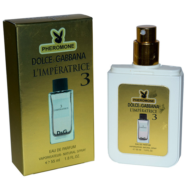 ДУХИ С ФЕРОМОНАМИ DOLCE & GABBANA 3 L'IMPERATRICE ,55ML NEW :: Парфюмерия
