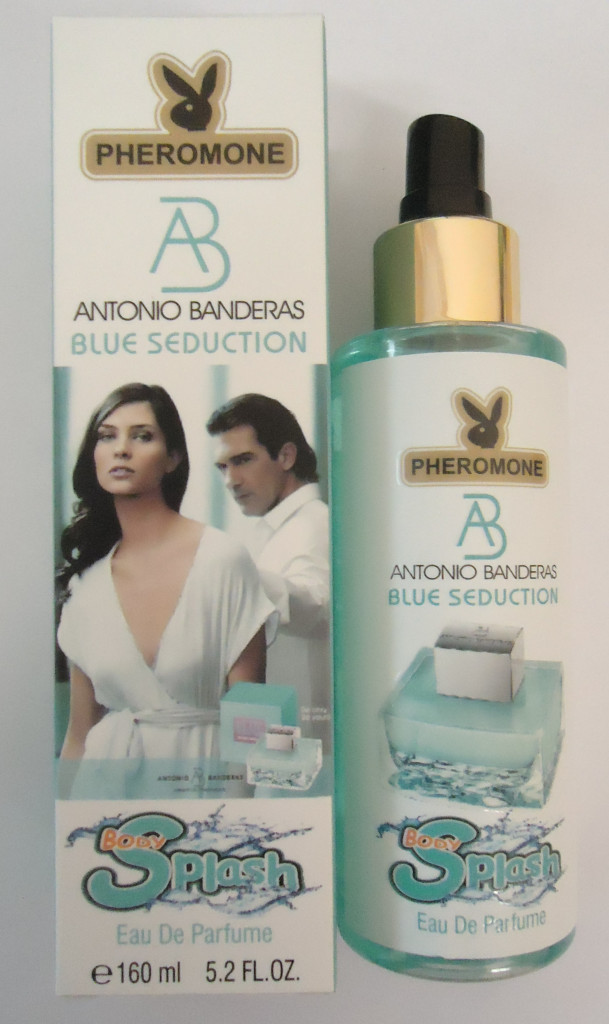 ЛОСЬОН ДЛЯ ТЕЛА С ФЕРОМОНАМИ  ANTONIO BANDERAS BLUE SEDUCTION, 160ML :: Парфюмерия
