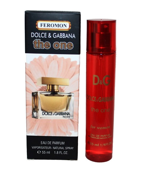 ДУХИ С ФЕРОМОНАМИ DOLCE AND GABBANA THE ONE, 55ML