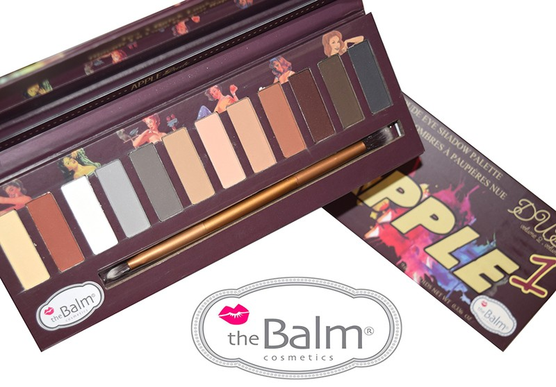 ТЕНИ ДЛЯ ВЕК THE BALM APPLE-1 DUDE , 12 ЦВЕТОВ
