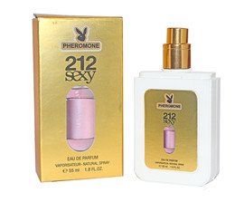 ДУХИ С ФЕРОМОНАМИ CAROLINA HERRERA 212 SEXY, 55ML (ЗОЛОТО)