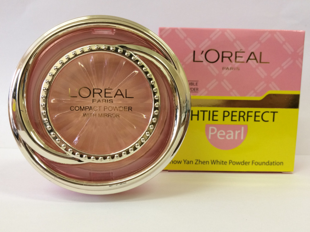 Пудра LOREAL WHTIE PERFECT Pearl :: Косметика