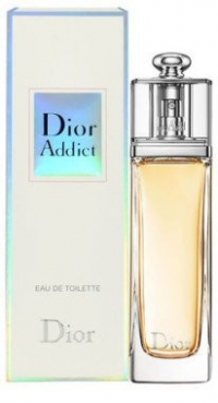 "Туалетная вода Christian Dior ""Addict Eau de Parfum""  yellow 100 мл"