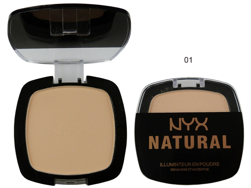Компактная пудра NYX NATURAL ILLUMINATEUR :: Косметика