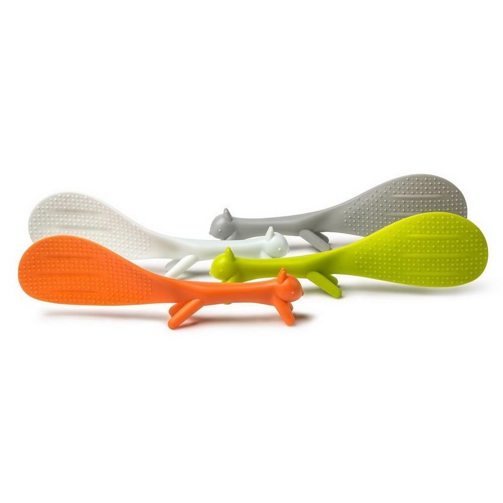 Кухонная лопатка с ножками Белочка (Цвет: Желтый )