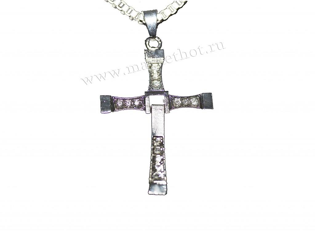 Амулет Крест Доминика Торетто (Размер: 6,5х5 см )
