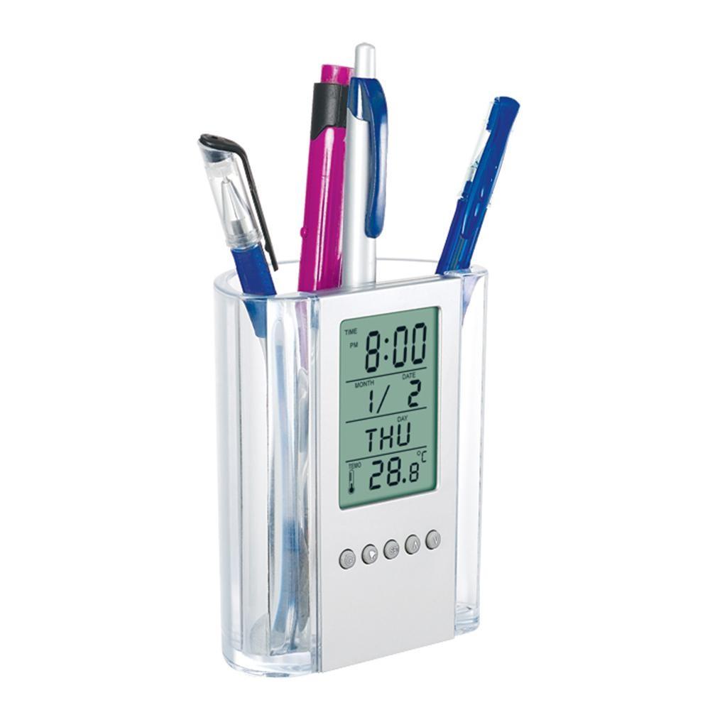 Настольные часы Howard Miller Desk Mate 645-759 (Цвет: Серый )