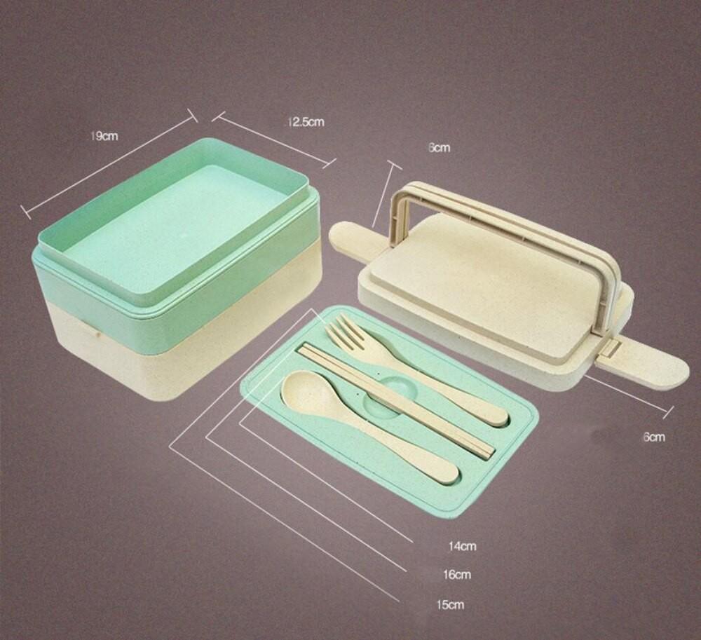 Ланч-бокс для микроволновой печи Yocoja 3 уровня, 18х12х10 см