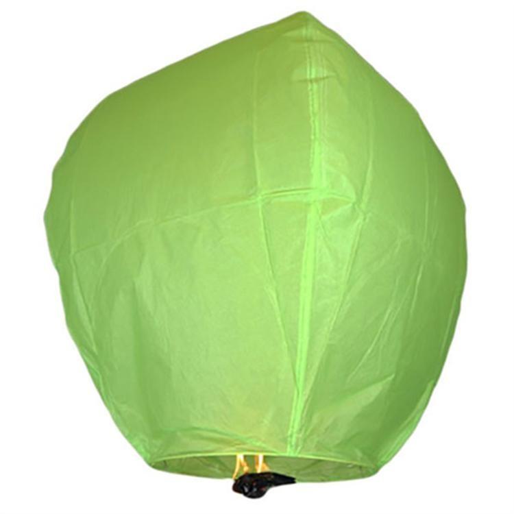 Небесный фонарик желаний Бриллиант (Цвет: Зелёный )
