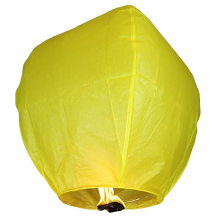 Небесный фонарик желаний Бриллиант (Цвет: Голубой )