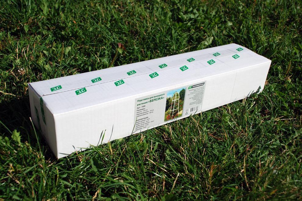Подставка для вьющихся растений Берёзка, 165х45/60 см