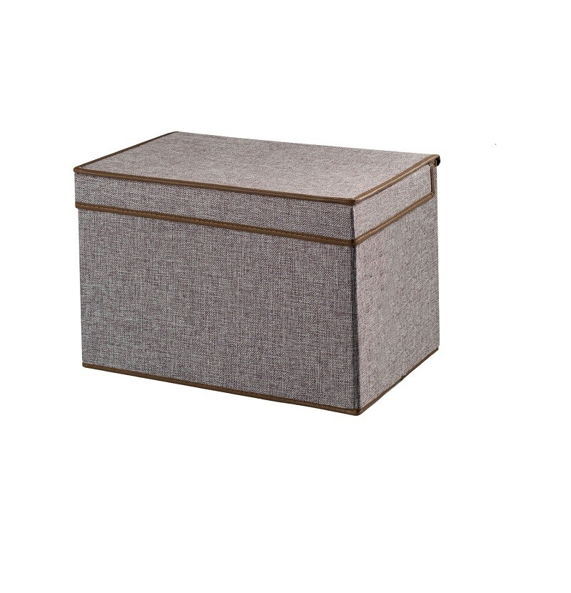 Короб для хранения вещей, 42х30х19 см (Цвет: Серый )