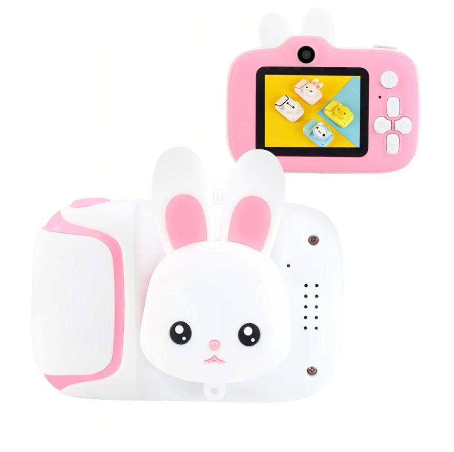 Детский цифровой мини фотоаппарат Cartoon Camera (Вид: Зайчик )