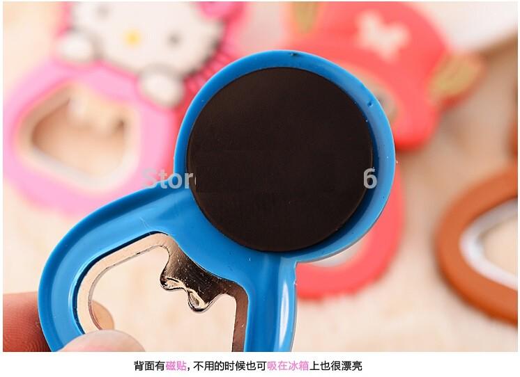 Открывалка Bottle opener с магнитом для холодильника (Название: Хелоу Китти , цвет: Красный)