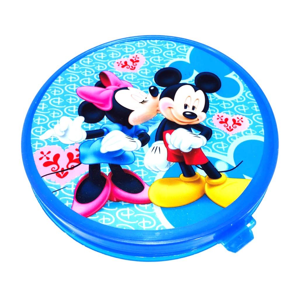 Детский пластиковый пищевой контейнер DISNEY (Рисунок: Миньоны , Цвет: Синий)